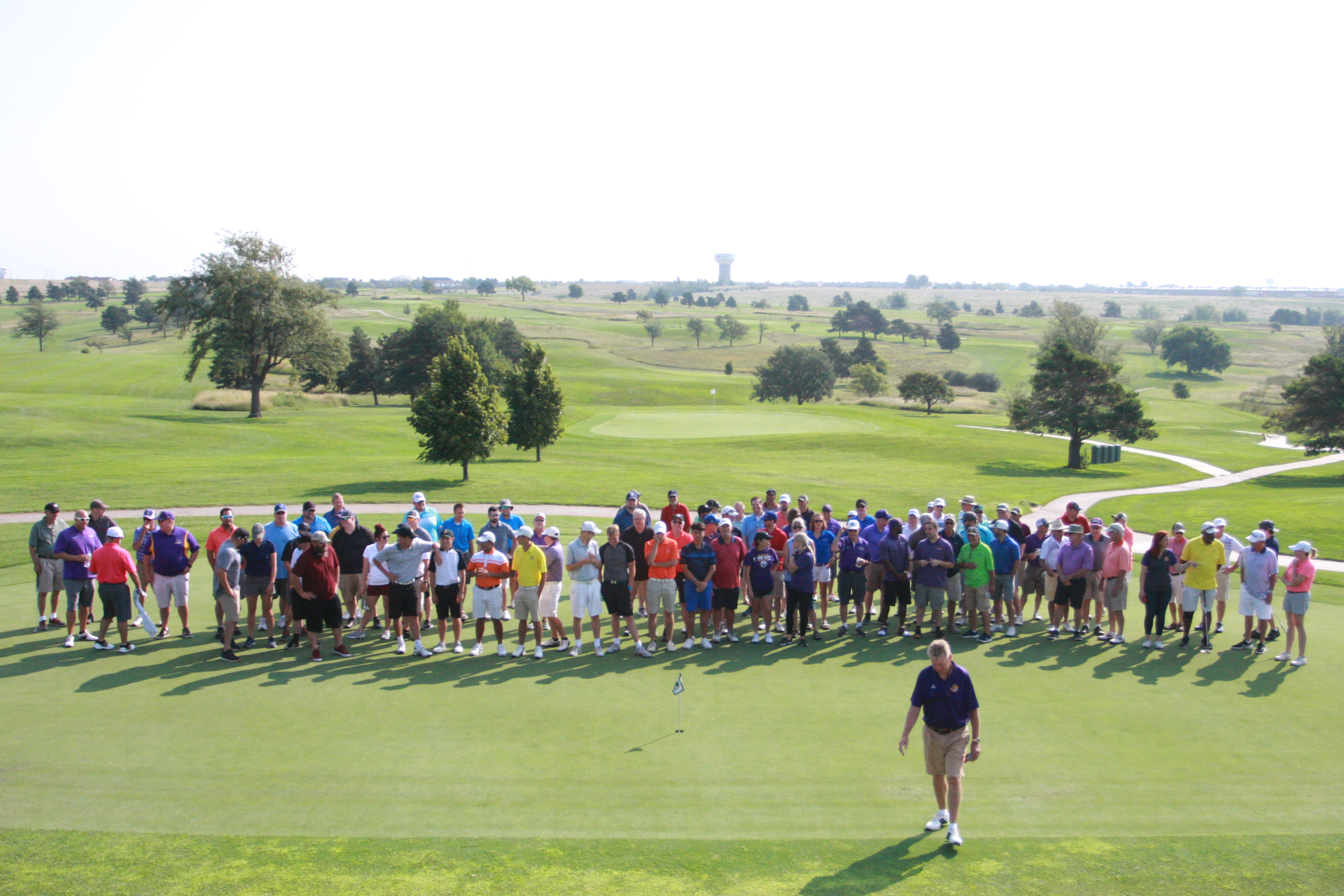 Group shot of participants in the DC3 Foundation Golf Classic