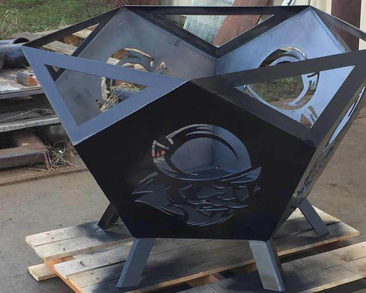 One of a kind Conq firepit