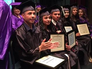 DC3 graduates applaud