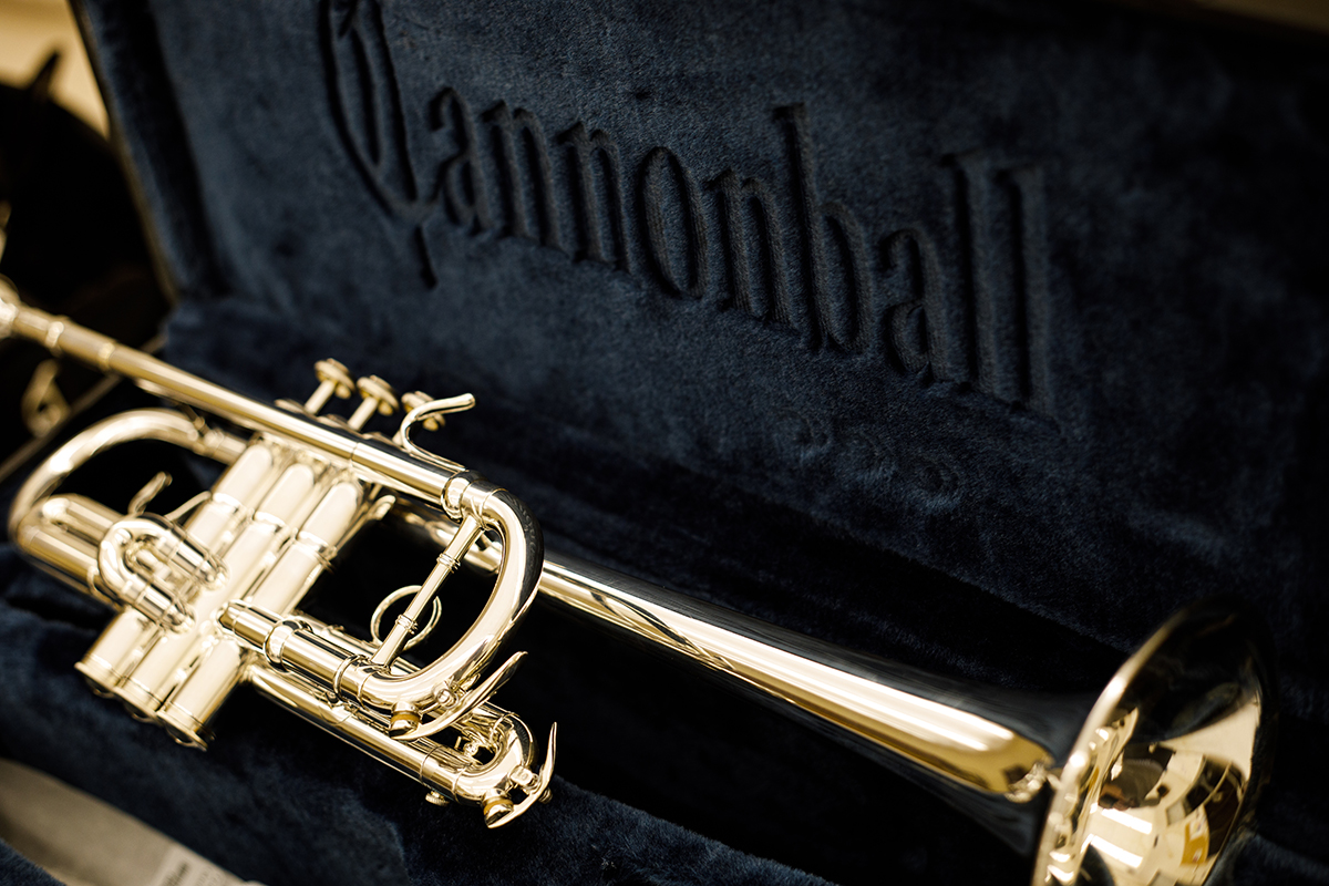 New trumpet purchased for the DC3 band