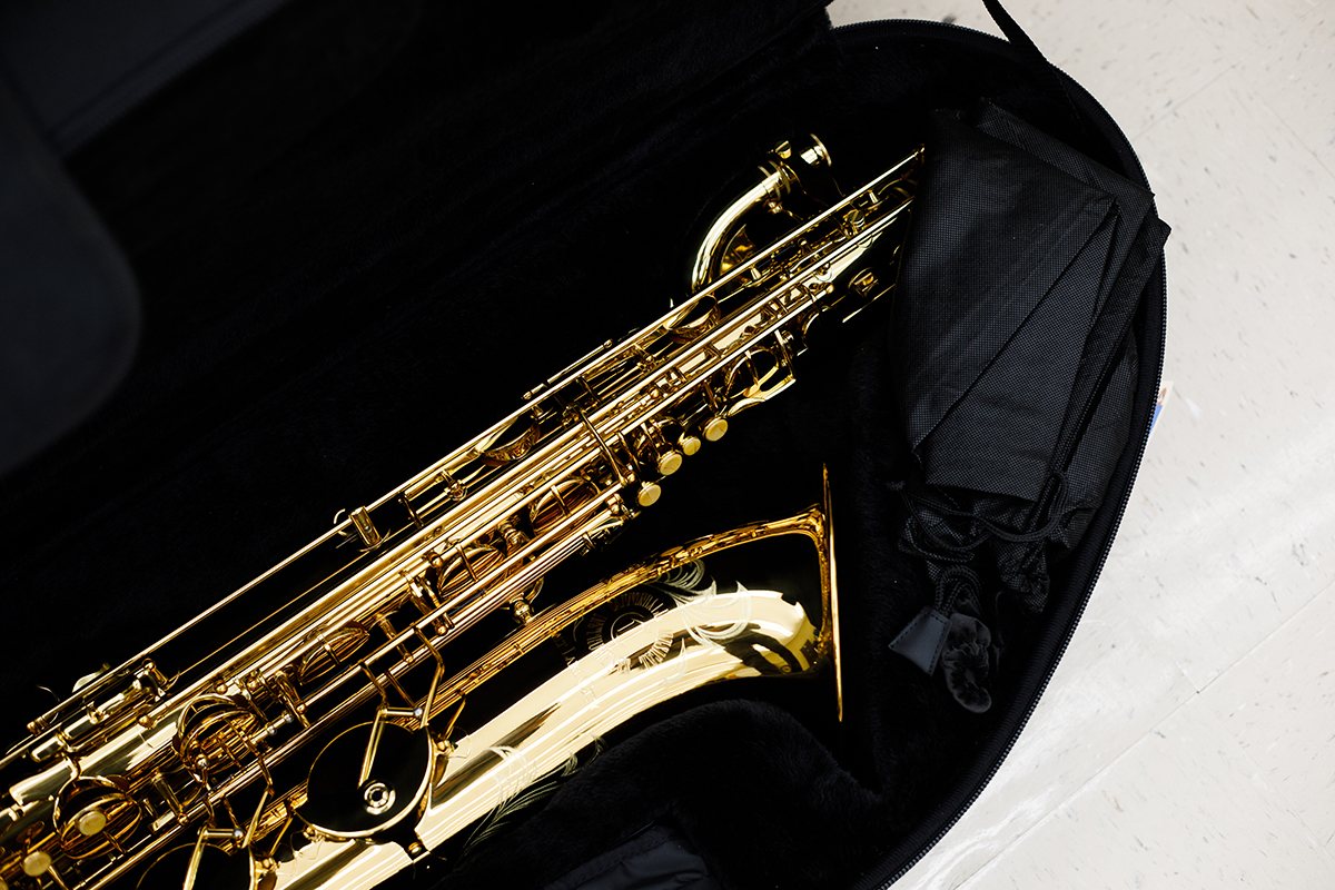 New saxophone purchased for the DC3 band